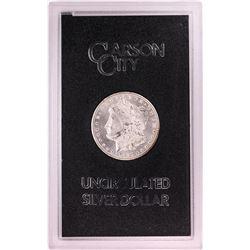 1880-CC $1 Morgan Silver Dollar Coin GSA Hoard Uncirculated