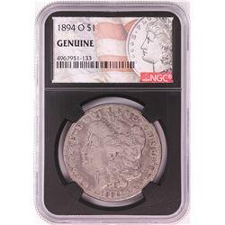 1894-O $1 Morgan Silver Dollar Coin NGC Genuine