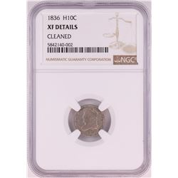 1836 Capped Bust Half Dime Coin NGC XF Details