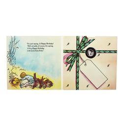 "Rarities Mint Disney Winnie The Pooh ""Happy Birthday"" 1/10 oz. .999 Fine Silver Round"