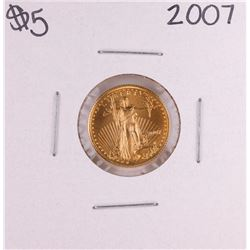 2007 $5 American Gold Eagle Coin