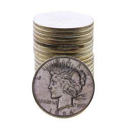 Roll of (20) 1926-S $1 Peace Silver Dollar Coins