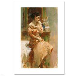 "Pino (1939-2010) ""Silk Taffeta"" Limited Edition Giclee on Canvas"
