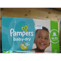 PAMPERS DIAPERS SIZE 5 132 PC