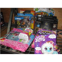 ASSORTED BOYS AND GIRL GAMES AND TOYS DAMAGED BOXES