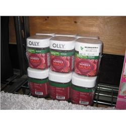 SET OF 4 OLLY WOMEN'S MULTI VITAMINS 3PC
