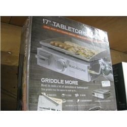 17 INCH TABLETOP GRIDDLE