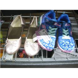 2 PAIRS OF SIZE 13 GIRLS SHOES