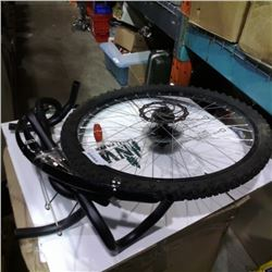 BIKE TIRE, HANDLEBARS AND PARTS
