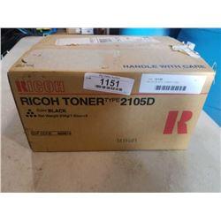 RICOH BLACK TONER 2105D