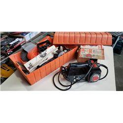 Black and decker wire work wheel and belt sander