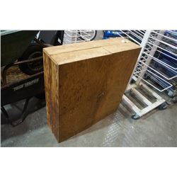 WOOD PORTABLE TOOL CABINET