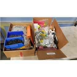 2 BOXES OF HARDWARE FASTENERS AND KODAK FOCUS SENSOR THERMAL BOARDS AND INTERFACE