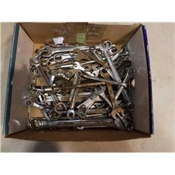 Box of 70+ wrenches