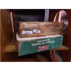 2 Coleman stoves in box