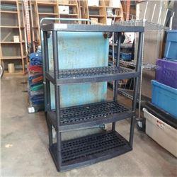 4 tier plastic shelf