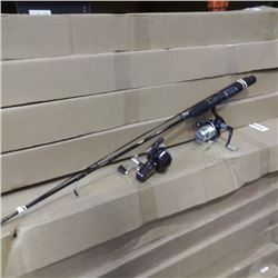 Fishing rod with 2 reels