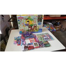 Lot of new Calliou set, puzzles and new kids toothbrushes