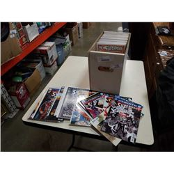 BOX OF COLLECTABLE COMICS