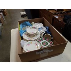 SOVEREIGN POTTERIES CUPS SAUCERS, PLATES AND BOWLS