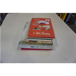 VINTAGE 70s DR SEUSS BOOKS AND OTHER KIDS BOOKS