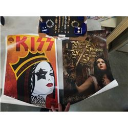 6 HARD ROCK HOTEL AND CASINO CONCERT POSTERS VEGAS