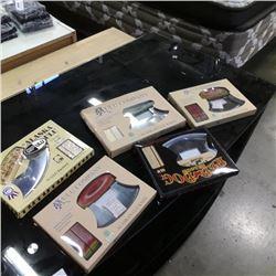 5 new ulu knives