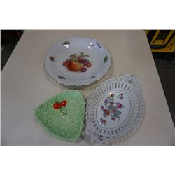 3 german serving dishes