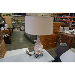 MCM POTTERY TABLE LAMP