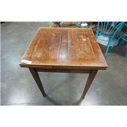 ANTIQUE DRAWLEAF DINING TABLE BULMAN AND BROTHERS