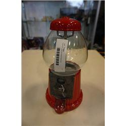 Carousel glass gumball dispenser