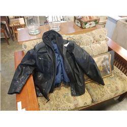 Calvin Klein XXL leather jacket
