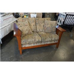 MISSION STYLE LOVESEAT