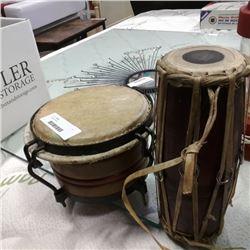 2 Eastern drums