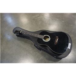 Jasmine acoustic guitar in hard case and espirit acoustic guitar needs strings