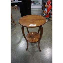 ROUND 2 TIER SIDE TABLE