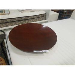"""26"""" diameter decorative dish"""