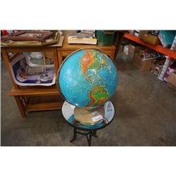 "DENYOER-GEPPER 16"" WORLD GLOBE"