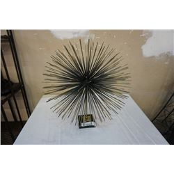 """GLOBAL VIEWS """"BOOM"""" LARGE TABLE SCALPTURE  20 X 19IN"""