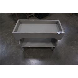 GREY PAINTED PLANTER STAND