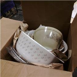 Lot of pyrex mixing bowls