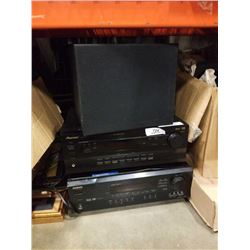 Onkyo HT-R500 and Pioneer VSX-D309 receivers and proficient sub