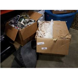2 BOXES OF ESTATE GOODS AND DECOR