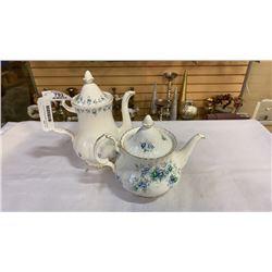 2 Royal albert teapots Memory lane and inspiration