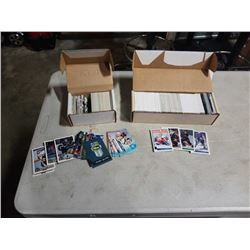 2 BOXES OF SPORTS CARDS