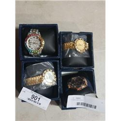 4 NEW WATCHES