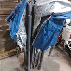 Coleman 13ft x 13ft canopy needs repair