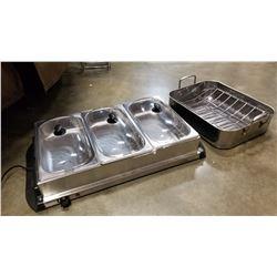 New Betty Crocker food warmer and roaster pan
