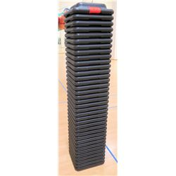 Stack of Aerobic Step Risers
