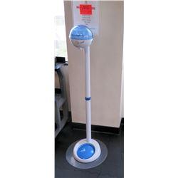Upright Germstar Instant Hand Sanitizer Dispenser